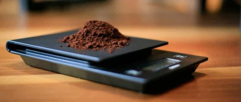 De beste precisie weegschaal voor koffie