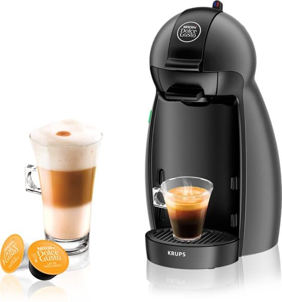 Krups Nescafe Dolce Gusto Piccolo KP100B Koffiecupmachine