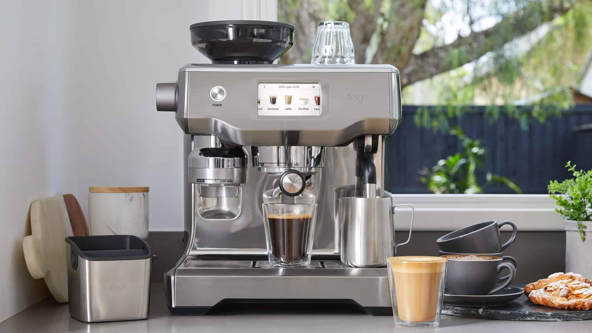 Koffiezetapparaat met bonen