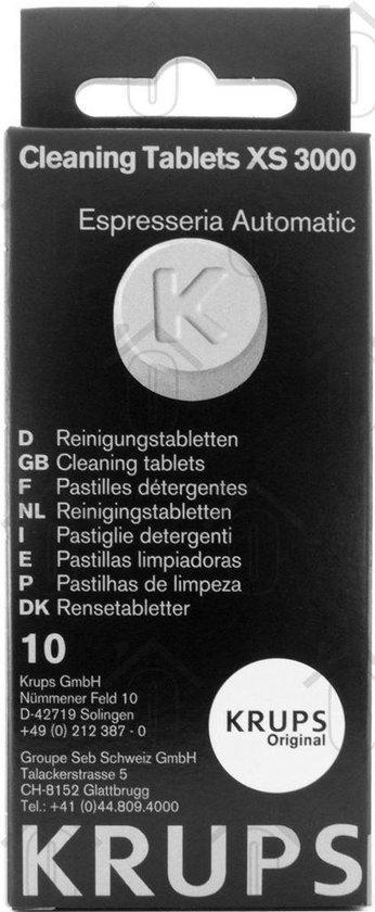 Krups XS3000 - Koffiemachinereiniger