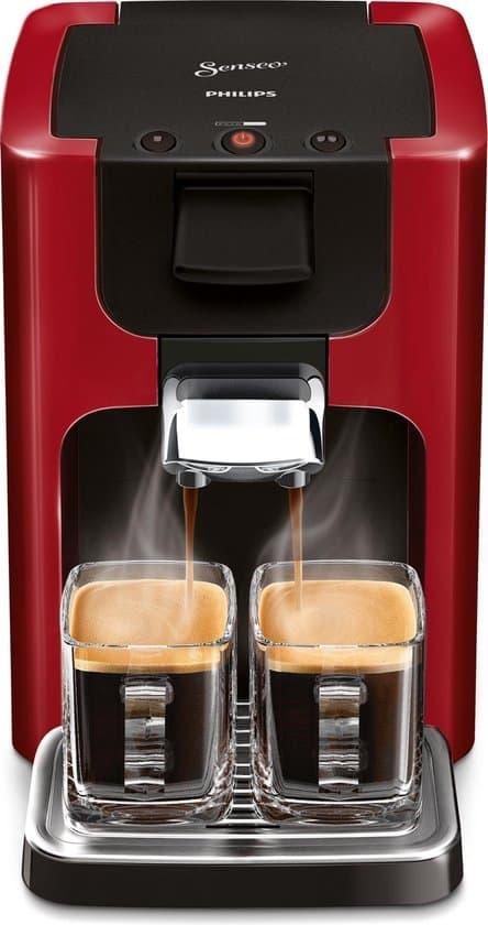 Philips Senseo Quadrante HD7865/80 - Koffiepadapparaat - Rood