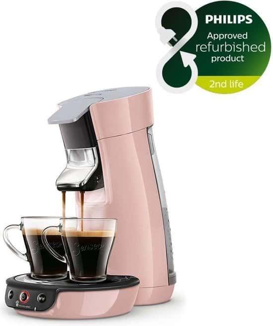 Philips Senseo Viva Café HD6563/30 - Koffiepadapparaat - Roze