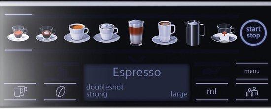 Siemens EQ6 Plus TE655203RW - Espressomachine
