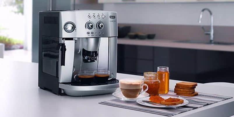 Koffiemachine met bonen