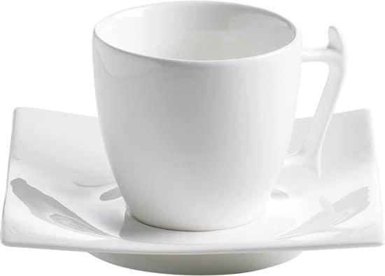 Maxwell & Williams Motion Espresso Kop- en Schotel - 100 ml - 11x11x6cm
