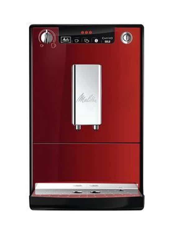 Melitta Caffeo Solo - Espressomachine - Rood