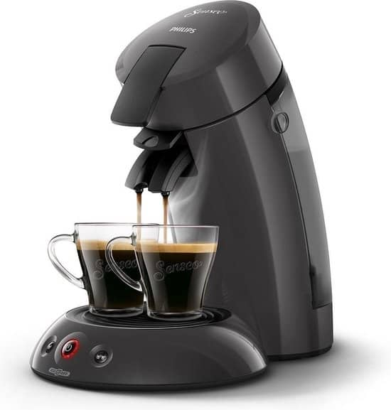 Philips Senseo Eco-model HD6552/38 - Koffiepadmachine - Donker grijs