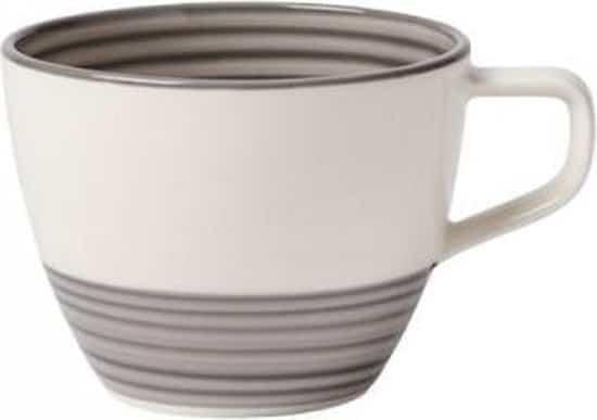 Villeroy & Boch Manufacture Gris Koffiekop  porselein - 0,25 l