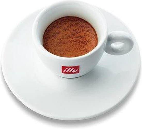illy Espresso Kop en Schotel - 60 cl - 2 stuks